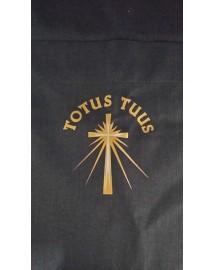 PASCAL Chemise pour prêtre Col Clergyman et croix Totus Tuus