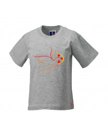 EMMANUEL Tee-shirt catholique pour garçon avec Croix de l'Esprit Saint