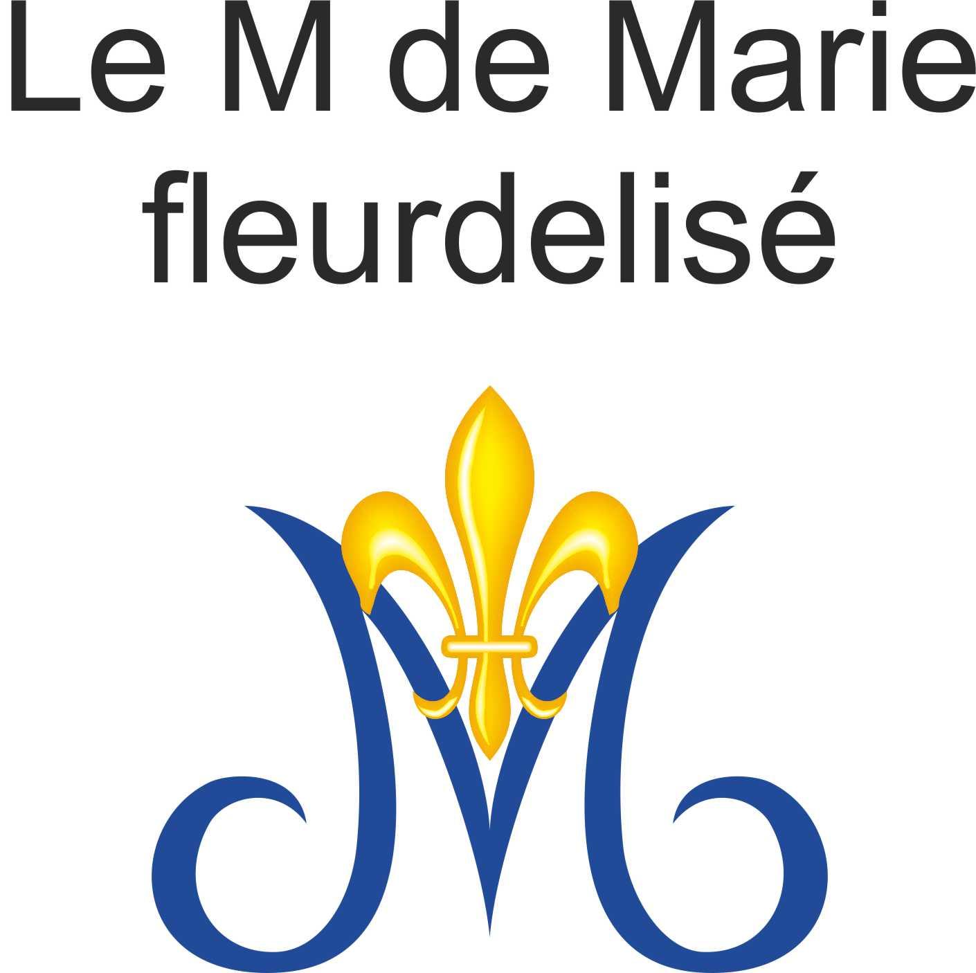 Francois chemise homme brod e d 39 un m marial et du sacr coeur - Signification de la fleur de lys ...